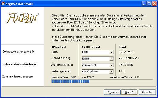 (Screenshot Antolin-Assistent Seite 1)